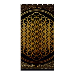 Bring Me The Horizon Cover Album Gold Shower Curtain 36  X 72  (stall)  by Onesevenart