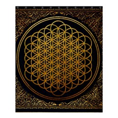 Bring Me The Horizon Cover Album Gold Shower Curtain 60  X 72  (medium)  by Onesevenart