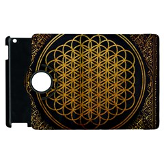 Bring Me The Horizon Cover Album Gold Apple Ipad 2 Flip 360 Case by Onesevenart