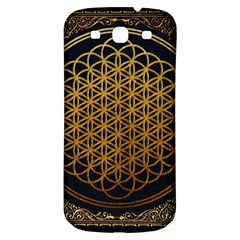 Bring Me The Horizon Cover Album Gold Samsung Galaxy S3 S Iii Classic Hardshell Back Case by Onesevenart