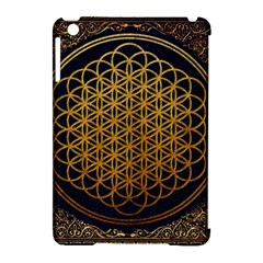 Bring Me The Horizon Cover Album Gold Apple Ipad Mini Hardshell Case (compatible With Smart Cover) by Onesevenart
