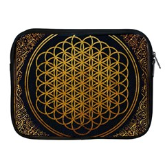 Bring Me The Horizon Cover Album Gold Apple Ipad 2/3/4 Zipper Cases by Onesevenart