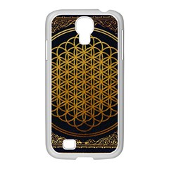 Bring Me The Horizon Cover Album Gold Samsung Galaxy S4 I9500/ I9505 Case (white) by Onesevenart