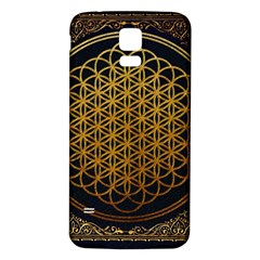 Bring Me The Horizon Cover Album Gold Samsung Galaxy S5 Back Case (white) by Onesevenart