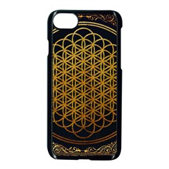 Bring Me The Horizon Cover Album Gold Apple Iphone 7 Seamless Case (black) by Onesevenart