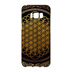 Bring Me The Horizon Cover Album Gold Samsung Galaxy S8 Hardshell Case  by Onesevenart