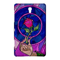 Enchanted Rose Stained Glass Samsung Galaxy Tab S (8 4 ) Hardshell Case  by Onesevenart