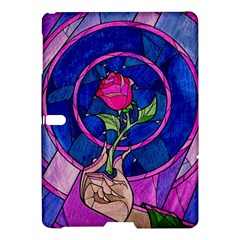 Enchanted Rose Stained Glass Samsung Galaxy Tab S (10 5 ) Hardshell Case  by Onesevenart