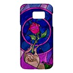 Enchanted Rose Stained Glass Samsung Galaxy S7 Hardshell Case