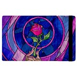Enchanted Rose Stained Glass Apple iPad Pro 12.9   Flip Case