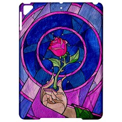 Enchanted Rose Stained Glass Apple Ipad Pro 9 7   Hardshell Case by Onesevenart
