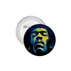 Gabz Jimi Hendrix Voodoo Child Poster Release From Dark Hall Mansion 1 75  Buttons by Onesevenart