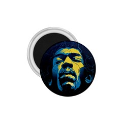 Gabz Jimi Hendrix Voodoo Child Poster Release From Dark Hall Mansion 1 75  Magnets by Onesevenart