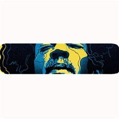 Gabz Jimi Hendrix Voodoo Child Poster Release From Dark Hall Mansion Large Bar Mats by Onesevenart