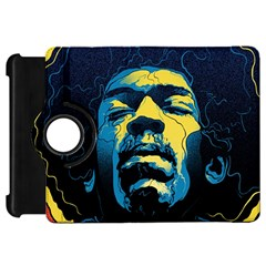Gabz Jimi Hendrix Voodoo Child Poster Release From Dark Hall Mansion Kindle Fire Hd 7  by Onesevenart
