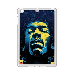 Gabz Jimi Hendrix Voodoo Child Poster Release From Dark Hall Mansion Ipad Mini 2 Enamel Coated Cases by Onesevenart