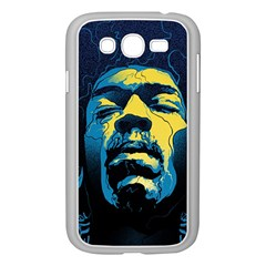 Gabz Jimi Hendrix Voodoo Child Poster Release From Dark Hall Mansion Samsung Galaxy Grand Duos I9082 Case (white) by Onesevenart