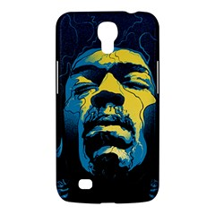 Gabz Jimi Hendrix Voodoo Child Poster Release From Dark Hall Mansion Samsung Galaxy Mega 6 3  I9200 Hardshell Case by Onesevenart