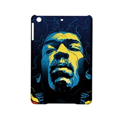 Gabz Jimi Hendrix Voodoo Child Poster Release From Dark Hall Mansion Ipad Mini 2 Hardshell Cases by Onesevenart