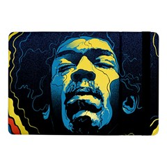 Gabz Jimi Hendrix Voodoo Child Poster Release From Dark Hall Mansion Samsung Galaxy Tab Pro 10 1  Flip Case by Onesevenart