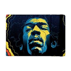Gabz Jimi Hendrix Voodoo Child Poster Release From Dark Hall Mansion Ipad Mini 2 Flip Cases by Onesevenart