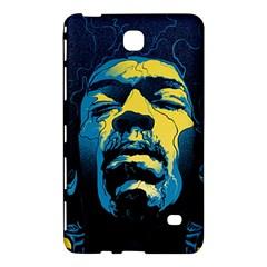 Gabz Jimi Hendrix Voodoo Child Poster Release From Dark Hall Mansion Samsung Galaxy Tab 4 (8 ) Hardshell Case  by Onesevenart