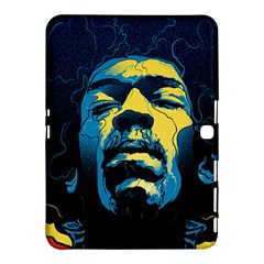 Gabz Jimi Hendrix Voodoo Child Poster Release From Dark Hall Mansion Samsung Galaxy Tab 4 (10 1 ) Hardshell Case  by Onesevenart