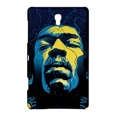 Gabz Jimi Hendrix Voodoo Child Poster Release From Dark Hall Mansion Samsung Galaxy Tab S (8 4 ) Hardshell Case  by Onesevenart