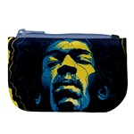 Gabz Jimi Hendrix Voodoo Child Poster Release From Dark Hall Mansion Large Coin Purse