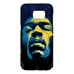Gabz Jimi Hendrix Voodoo Child Poster Release From Dark Hall Mansion Samsung Galaxy S7 Edge Hardshell Case