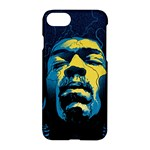 Gabz Jimi Hendrix Voodoo Child Poster Release From Dark Hall Mansion Apple iPhone 7 Hardshell Case