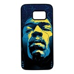 Gabz Jimi Hendrix Voodoo Child Poster Release From Dark Hall Mansion Samsung Galaxy S7 Black Seamless Case