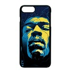 Gabz Jimi Hendrix Voodoo Child Poster Release From Dark Hall Mansion Apple iPhone 7 Plus Seamless Case (Black)