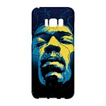 Gabz Jimi Hendrix Voodoo Child Poster Release From Dark Hall Mansion Samsung Galaxy S8 Hardshell Case