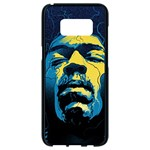 Gabz Jimi Hendrix Voodoo Child Poster Release From Dark Hall Mansion Samsung Galaxy S8 Black Seamless Case