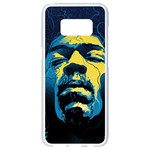 Gabz Jimi Hendrix Voodoo Child Poster Release From Dark Hall Mansion Samsung Galaxy S8 White Seamless Case