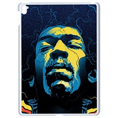 Gabz Jimi Hendrix Voodoo Child Poster Release From Dark Hall Mansion Apple Ipad Pro 9 7   White Seamless Case by Onesevenart