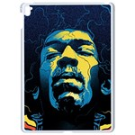 Gabz Jimi Hendrix Voodoo Child Poster Release From Dark Hall Mansion Apple iPad Pro 9.7   White Seamless Case