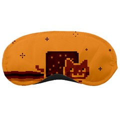 Nyan Cat Vintage Sleeping Masks by Onesevenart