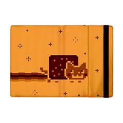 Nyan Cat Vintage Apple Ipad Mini Flip Case by Onesevenart
