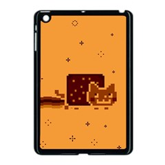 Nyan Cat Vintage Apple Ipad Mini Case (black) by Onesevenart