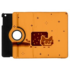 Nyan Cat Vintage Apple Ipad Mini Flip 360 Case by Onesevenart