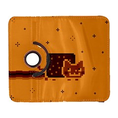 Nyan Cat Vintage Galaxy S3 (flip/folio) by Onesevenart