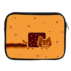 Nyan Cat Vintage Apple Ipad 2/3/4 Zipper Cases by Onesevenart