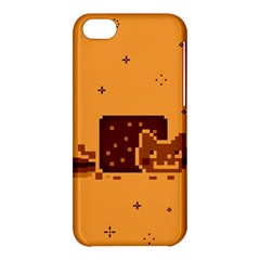 Nyan Cat Vintage Apple Iphone 5c Hardshell Case by Onesevenart