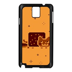 Nyan Cat Vintage Samsung Galaxy Note 3 N9005 Case (black) by Onesevenart