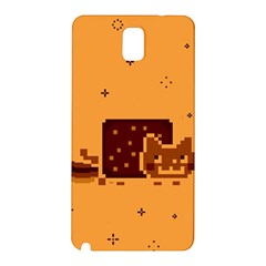 Nyan Cat Vintage Samsung Galaxy Note 3 N9005 Hardshell Back Case by Onesevenart
