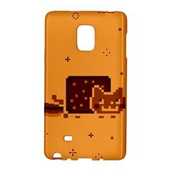 Nyan Cat Vintage Galaxy Note Edge by Onesevenart