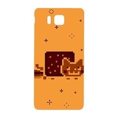Nyan Cat Vintage Samsung Galaxy Alpha Hardshell Back Case by Onesevenart