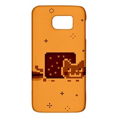 Nyan Cat Vintage Galaxy S6 by Onesevenart